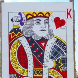 King of Hearts Belladrum Side Stage banner